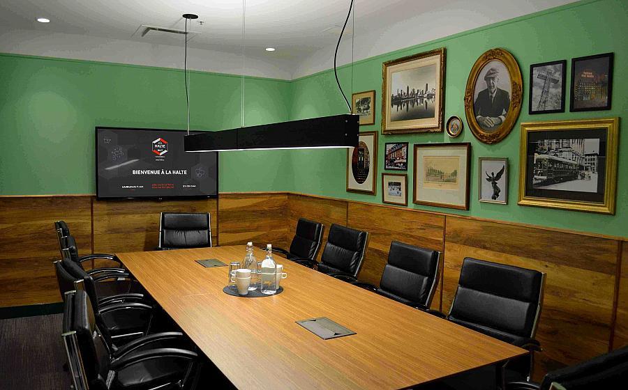 Salle de réunion rive-sud